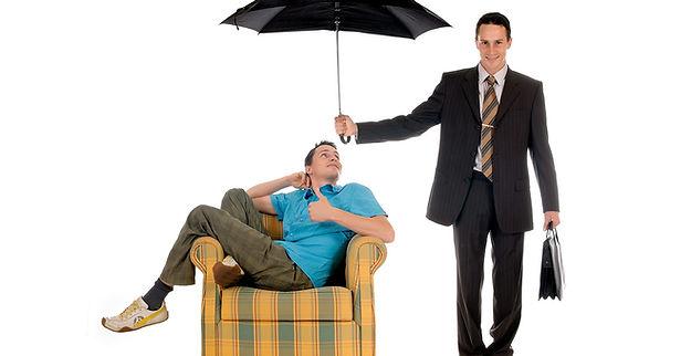Parapluie pour se couvrir