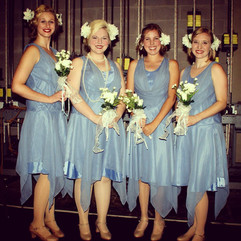 All of the Bridesmaids!