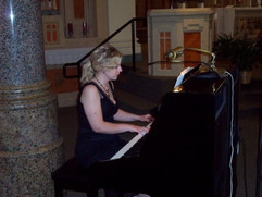 Playing Piano for a wedding in Central MN