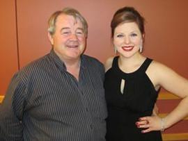 Dad and I at Graduate recital
