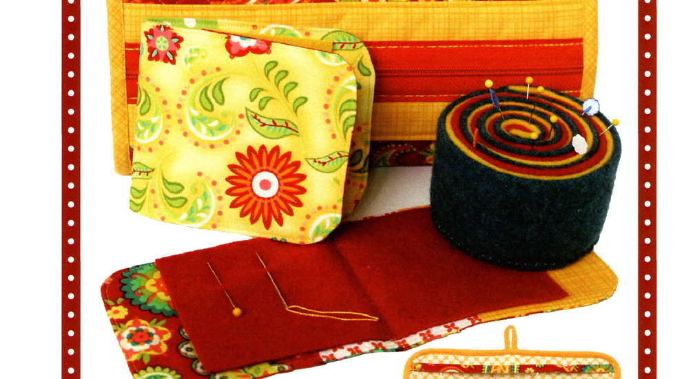 Needle Cases and Wool Pincushion
