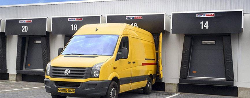 Van Hybrid Dock Shelter