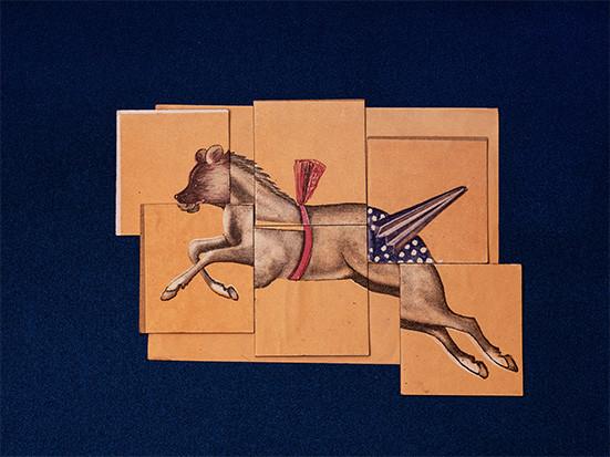 DAS ZIRKUSPFERD, Digital Fine Art Print / Baryta 60 x 80 cm