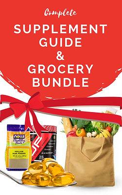 GROCERY & SUPPLEMENT GUIDE BUNDLE!