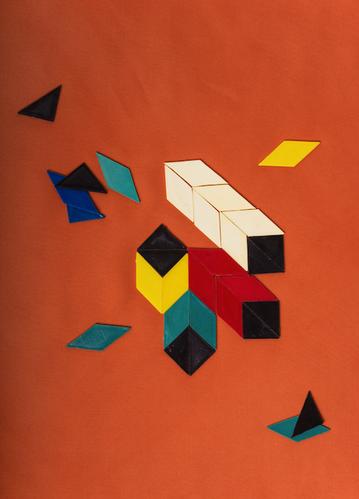 MOSAIK, Digital Fine Art Print Baryta, 50x70 cm