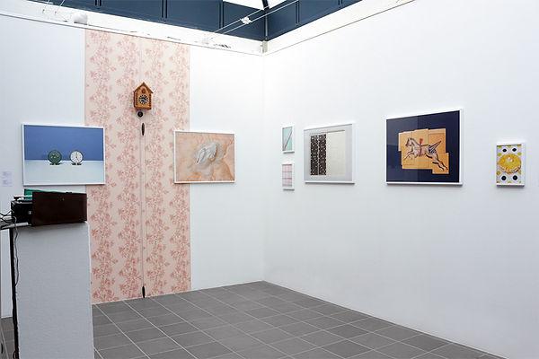 Installation view, KUKUSHKA 2020, Atelier Ravensberger Spinnerei, Bielefeld, D