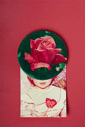 DIE ROSE UND DAS KIND, Digital Fine Art Print Baryta 20 x 30 cm