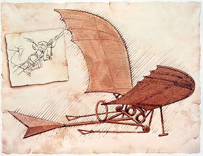 flying-machine-Leonardo-da-Vinci-plans-o