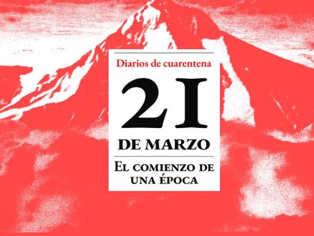DIÁRIOS DE QUARENTENA | 21 a 28 de março