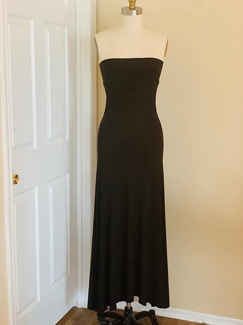 Black Tube Maxi Dress