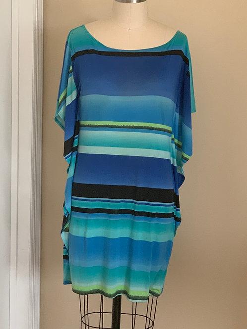 Stretch Cape Style Dress