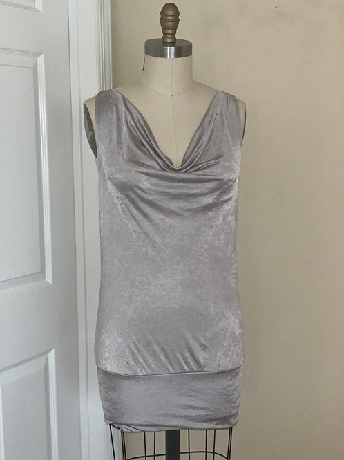 Silver Stretch Dress