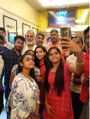 Fans of Megastar Aazaad