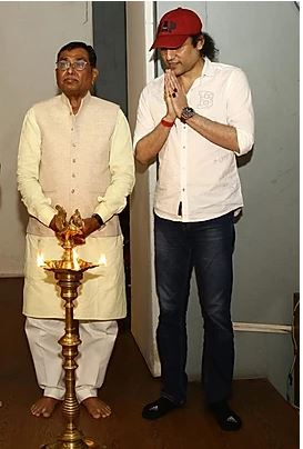 Megastar Aazaad with Kirit Bhai
