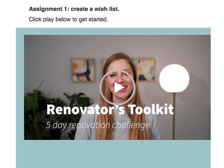 How to kickstart your home renovation