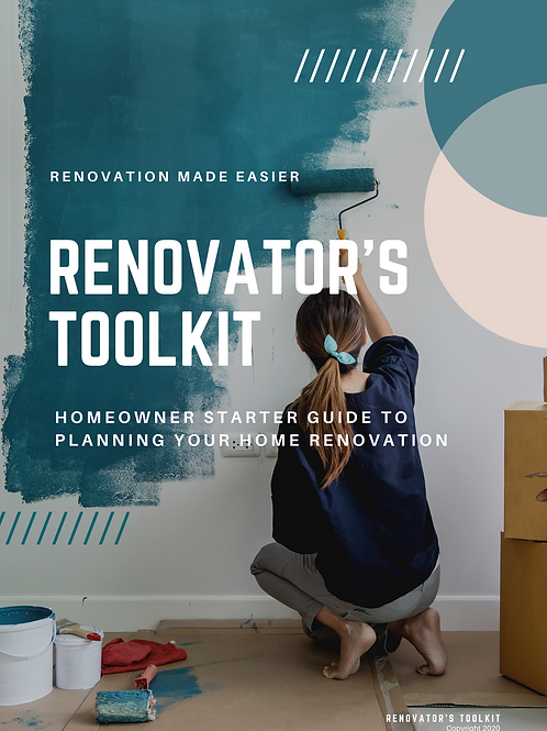 Homeowner Starter Guide to Home Renovation