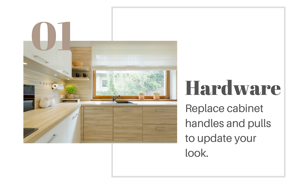 Hardware: replace cabinet handles and pulls to update your look, Modern kitchen, handles in view