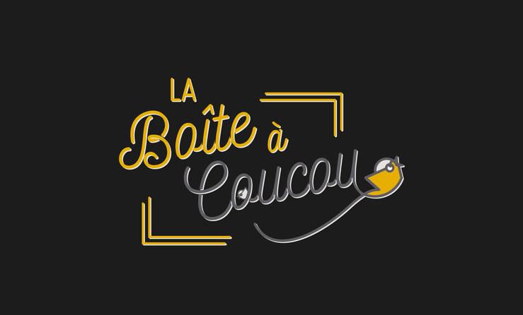 logotype de La Boîte à Coucou, Location de borne à photo, Pau