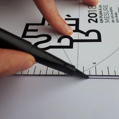 Carte de voeux, Despré Architectes, Agence d'architecture, Solutions techniques & Agencement, Nay