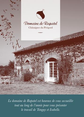 Brochure, Domaine de Rapatel, Villefranche-du-Périgord