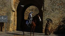 Jesús Prieto a caballo