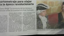 """El cortometraje """"La memoria de los tiempos"""" llega a oídos del periódico  (El correo de And"""