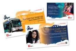 Jacksonville Transit New Line Posters