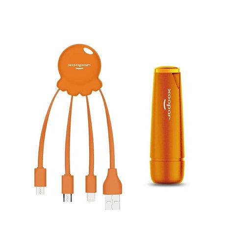 Orange Octopus Power Pack