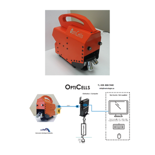 Microscope et architecture Opticells
