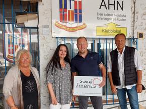 Avtal med Svensk hemservice