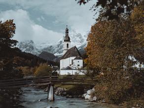 Postkarten-Idylle in Ramsau bei Berchtesgaden