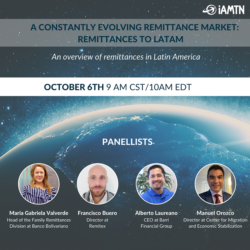 A constantly evolving remittance market: remittances to Latam