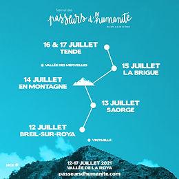 Dans la vallée de la Roya, des Passeurs d'humanité. Festival, du 12 au 17 juillet.