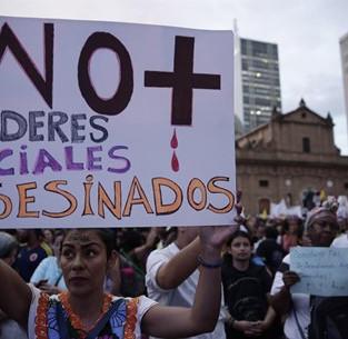 Colombie. Jusqu'à quand, le massacre ?