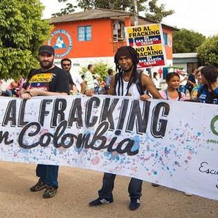 Colombie, 5 juin. Grève de l'environnement.