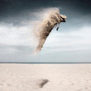 Le vent qui ruisselle, par Augustin Berque.