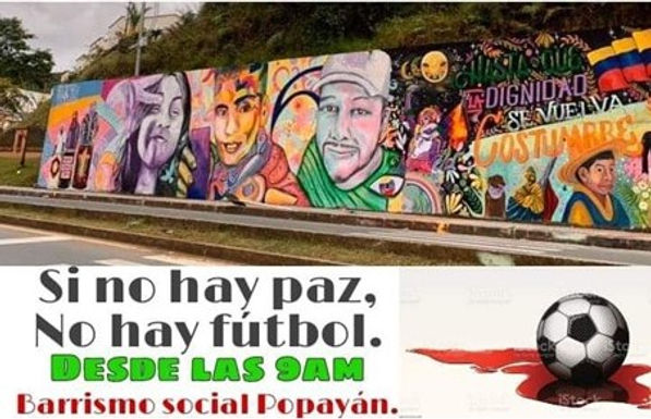 Colombie : « S'il n'y pas de paix, il n'y a pas de football ».