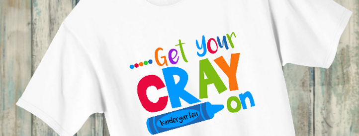 Get Your Cray On blue