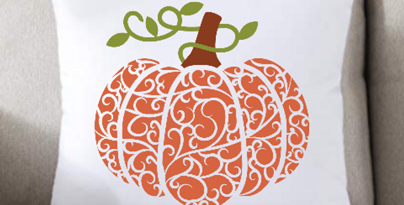 Swirly Pumpkin
