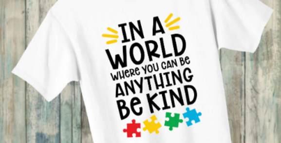 Autism T-shirts set 1