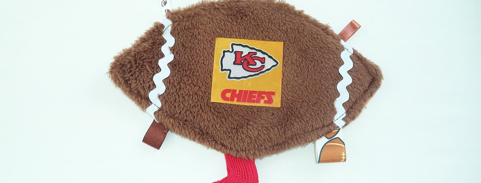 Baby Crinkle Taggie Chiefs Football