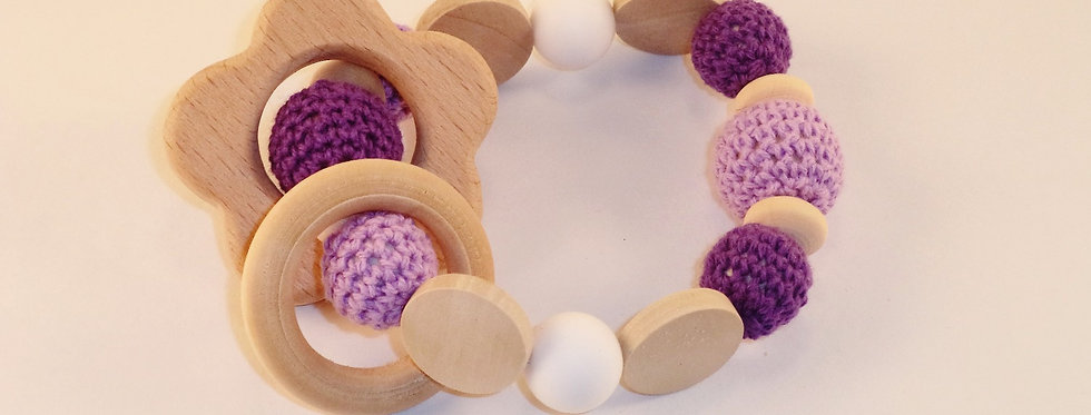 Flower Baby Teether & Rattle