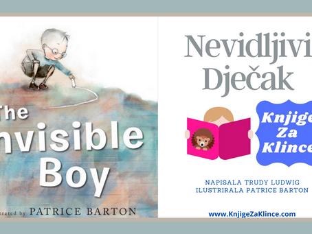 Nevidljivi Dječak - Video slikovnica za stidljivu djecu - priča za djecu.