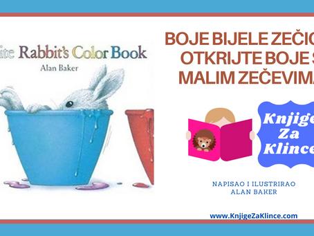 Boje Bijele Zečice - Otkrijte boje s malim zečevima