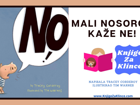 """Mali nosorog kaže ne! - Bajke - Priča za laku noć i moći riječi """"da"""""""