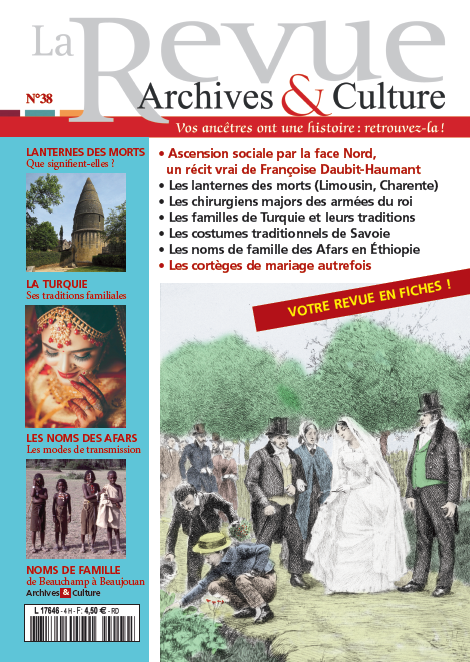 Revue Archives & Culture n° 38