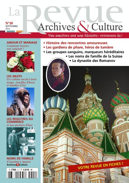 Revue Archives & Culture n° 10