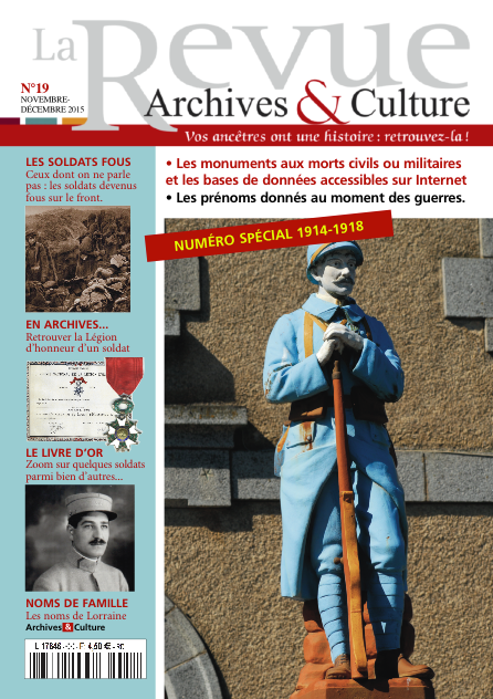 Revue Archives & Culture n° 19