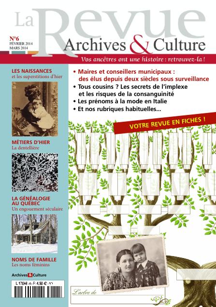 Revue Archives & Culture n° 6