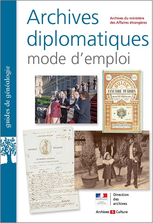 Archives diplomatiques : mode d'emploi